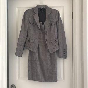 Bebe Suit & Sheath Dress Set  Italian Fabric Sz 0